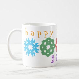 Karate Kat happy new year 2013 mug