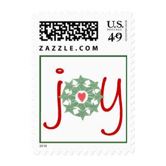 "Karate Kat holiday ""joy"" Stamps"