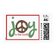 Karate Kat joy-to-the-world stamp