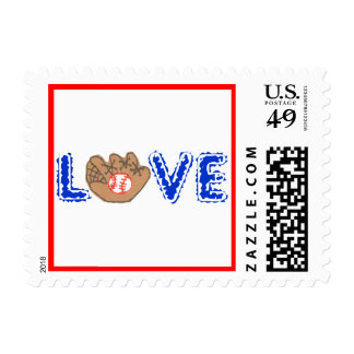 "Karate Kat ""love of the game"" Stamps"