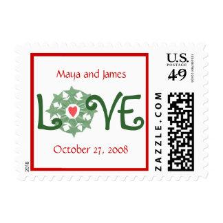 Karate Kat newlywed holiday Stamp