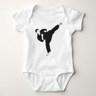 Karate Kick Baby Bodysuit