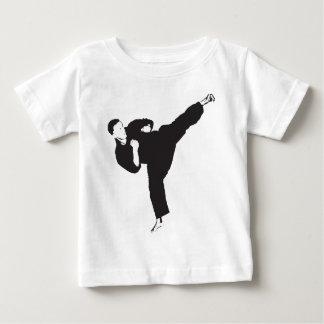 Karate Kick Baby T-Shirt
