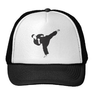 Karate Kick Mesh Hats