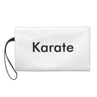 Karate Kick Wristlet Purse
