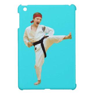 Karate Kicking Black Belt Cover For The iPad Mini