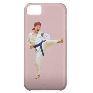 Karate Kicking, Blue Belt, iPhone 5 Case