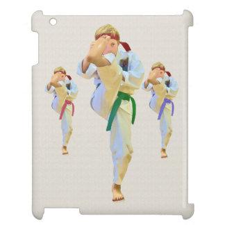 Karate Kicking Customizable iPad Covers