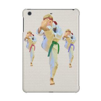 Karate Kicking Customizable iPad Mini Covers