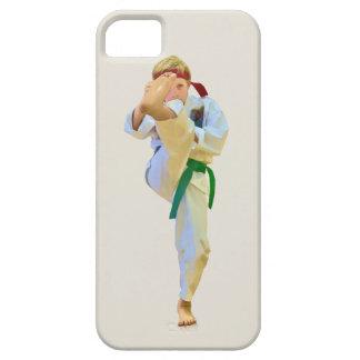 Karate Kicking Green Belt Customizable iPhone SE/5/5s Case