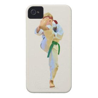 Karate Kicking iPhone 4 Casemate Case