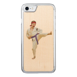 Karate Kicking, Martial Arts Carved iPhone 7 Case