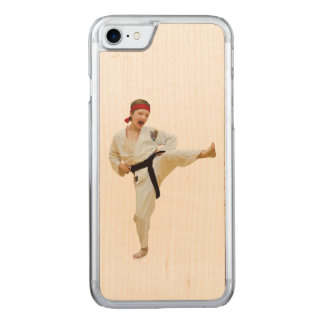 Karate Kicking, Martial Arts Carved iPhone 8/7 Case