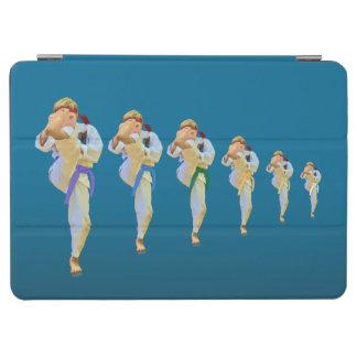 Karate Kicking, Martial Arts Customizable iPad Air Cover