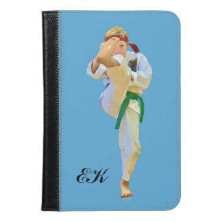 Karate Kicking, Martial Arts, Monogram iPad Mini Case