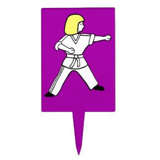 Karate Kid 10 selecciones púrpuras de la magdalena Decoraciones Para Tartas