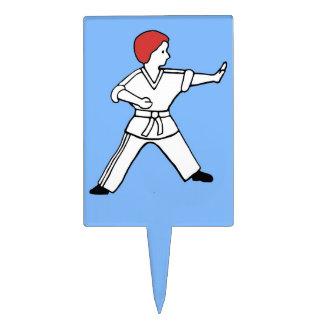 Karate Kid 13 artes marciales del primero azul cla Figura Para Tarta