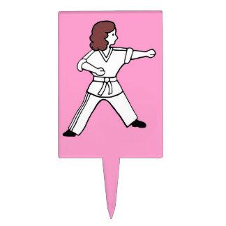 Karate Kid 16 artes marciales del primero rosa cla Palillos De Tarta