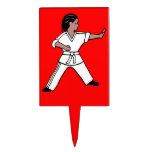 Karate Kid 1 red cake cupcake topper Martial Arts Cake Topper