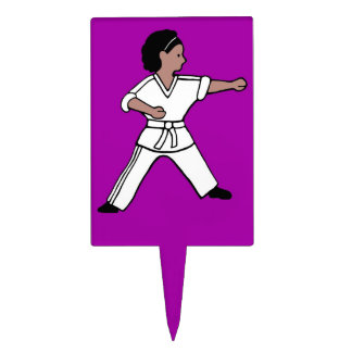 Karate Kid 2 artes marciales de la torta de la sel Decoración De Tarta