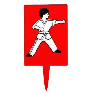 Karate Kid 9 artes marciales del primero rojo de l Figuras De Tarta
