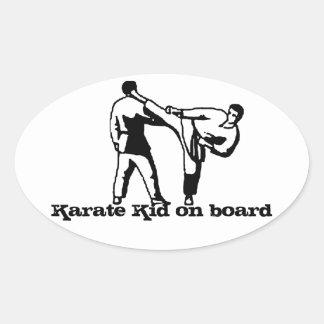 Karate Kid bumper sticker