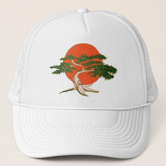 Karate Kid Mr Miyage Bonsai Trucker Hat Zazzlecom