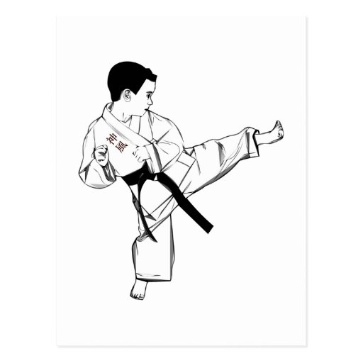 Karate Kid Postal