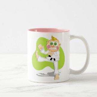 Karate Kid Two-Tone Coffee Mug