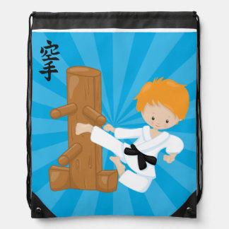 Karate Kids Drawstring Backpack