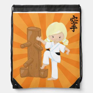 Karate Kids Drawstring Bag