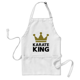 Karate king champion aprons