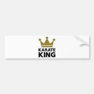 Karate king champion bumper stickers