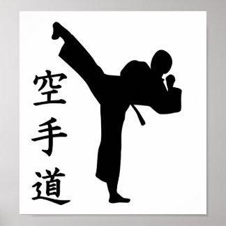 Karate Kung Fu Poster