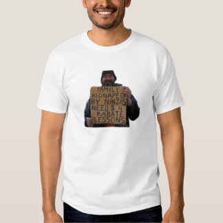 Karate Lessons T-shirt