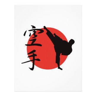 Karate Letterhead