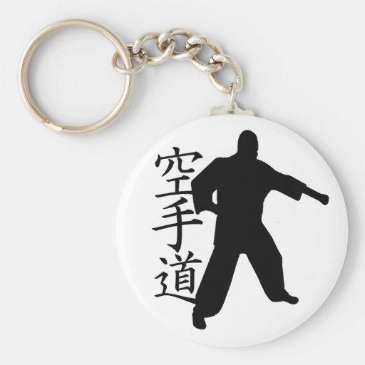 karate llavero personalizado