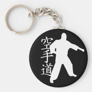 Karate Llavero Redondo Tipo Pin