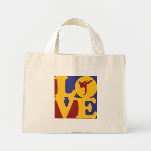 Karate Love Canvas Bag