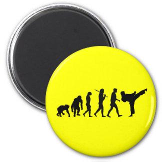 Karate lovers Dojo training gift 2 Inch Round Magnet