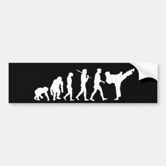 Karate lovers Dojo training gift Bumper Sticker
