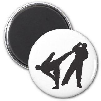 karate refrigerator magnets