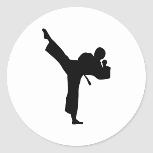 Karate Martial Arts Sticker