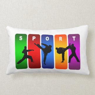 Karate Martial Arts Super Cool Sport Design Throw Pillow