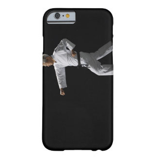 Karate master demonstrating, studio shot barely there iPhone 6 case