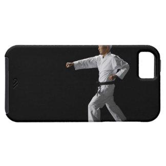Karate master demonstrating, studio shot iPhone SE/5/5s case