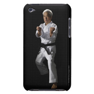 Karate master, portrait, studio shot 2 barely there iPod cover