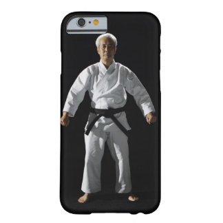 Karate master, portrait, studio shot barely there iPhone 6 case