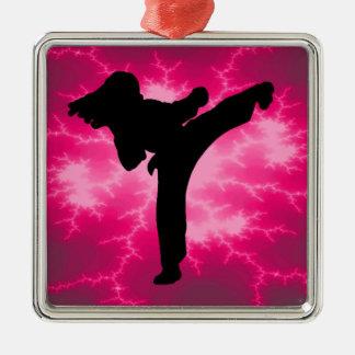 Karate Metal Ornament