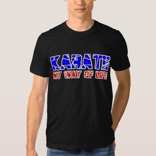Karate - mi manera de camiseta de la vida poleras